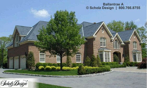 Search Scholz Home Design Services | Ballantrae A | Design 55175 ...