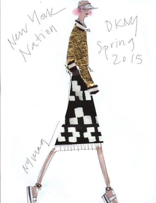 DKNY - Spring 2015
