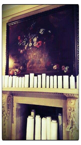 Chatsworth stunning fireplace
