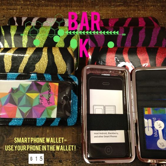 Fun & Smart - Phone Wallets, Fit iPhone5 Use Your Phone While In the Case