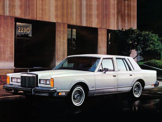 lincoln town car 1981 1980 39 s car pinterest cars. Black Bedroom Furniture Sets. Home Design Ideas