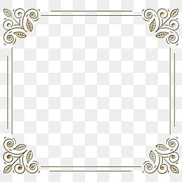 Borda Quadrada Simples Linha Retro Preta Clipart De Fronteira Retangulo Restaurando Maneiras Antigas Imagem Png E Psd Para Download Gratuito White Square Frame Frame Border Design Frame Logo