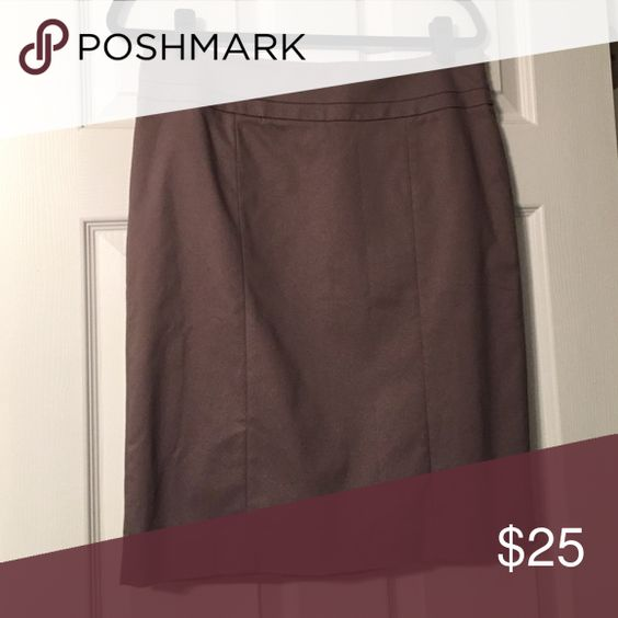 Gray/Purple Loft Pencil Skirt New with tags! LOFT Skirts Pencil
