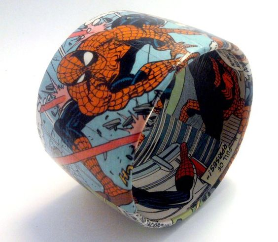 Comic Book Crafts #geeky #teen #library #crafts #resources