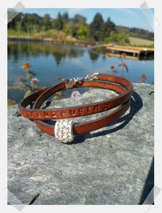 Trauzeugin / Brautjungfer Armband Image 0