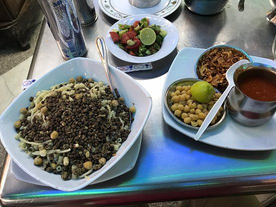 Koshary Abou Tarek Cairo Restaurant Reviews Photos Phone Number Tripadvisor Cairo Restaurant Egyptian Food Cairo