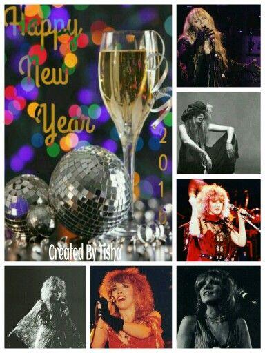 Stevie Nicks Collage Created By Tisha 01/01/16