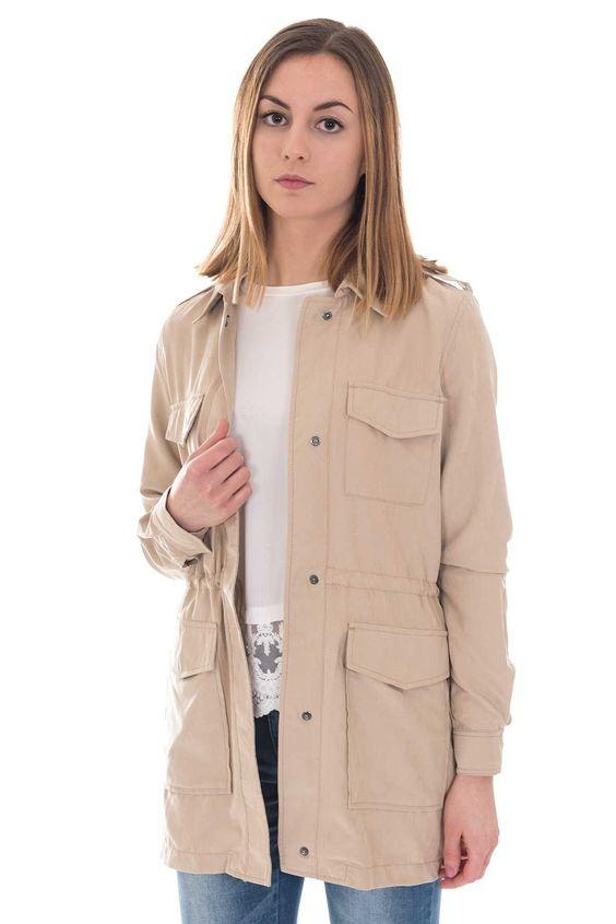 Vila Lightweight Parka Jacket | DIZEN Clothing