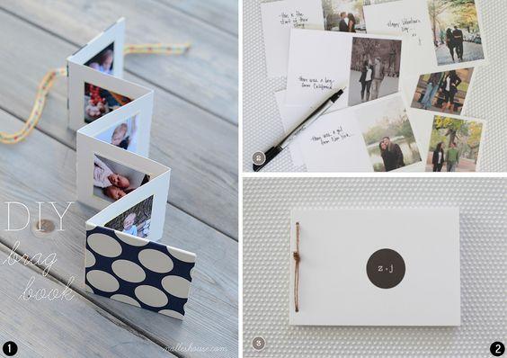 Diy ideas originals and blog on pinterest - Como hacer un album de fotos ...