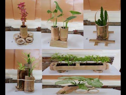 6 Beautiful Diy Bamboo Planter Ideas Ideias Para Jardim