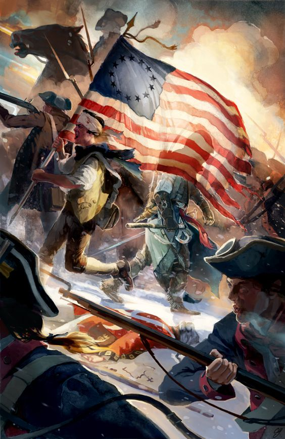 Assassin's Creed III inspired artwork by Chad Gowey