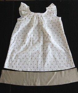 gold-pleated-flutter-sleeve-dress-free-pattern7