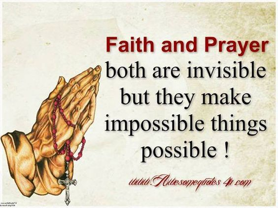 Essay on faith makes impossible possible