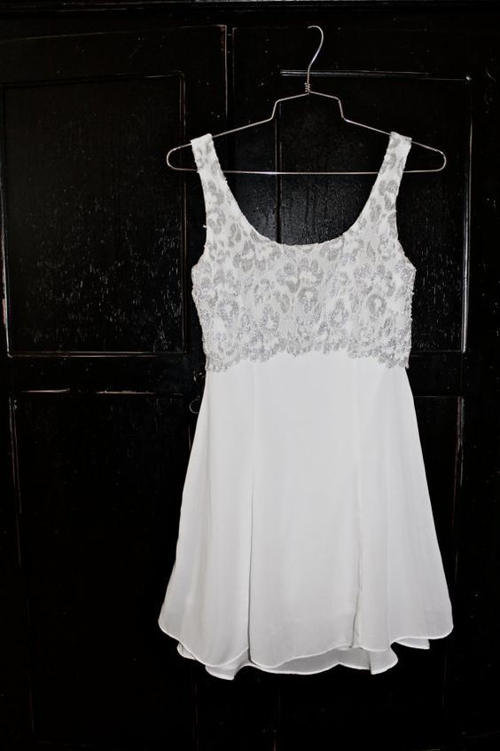 Vintage white dress #vintage #clothes #dress #white $15