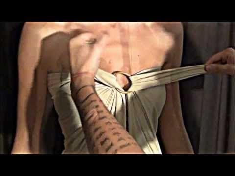 Fabrizio Crispino Cómo hacer un vestido de cóctel con dos trozos de tela fácil y rápido - YouTube