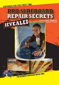 Surfboard manufacturers and many surf shop retailers have for years contracted or done their own in house repairs, keeping the real techniques and secrets of correctly repairing your surfboard to themselves.