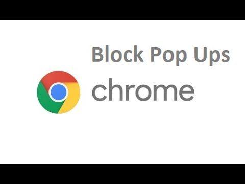 How To Block Pop Ups On Chrome Google Chrome Extensions Chrome Chrome Apps