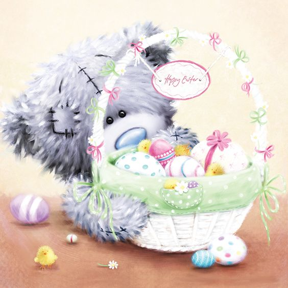 Happy easter tatty ted: