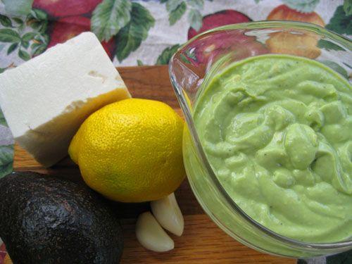 Avocado-Tofu Salad Dressing and Dip