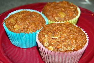 Healthy Carrot Pineapple Muffins | The Adventures of Mini-Martha