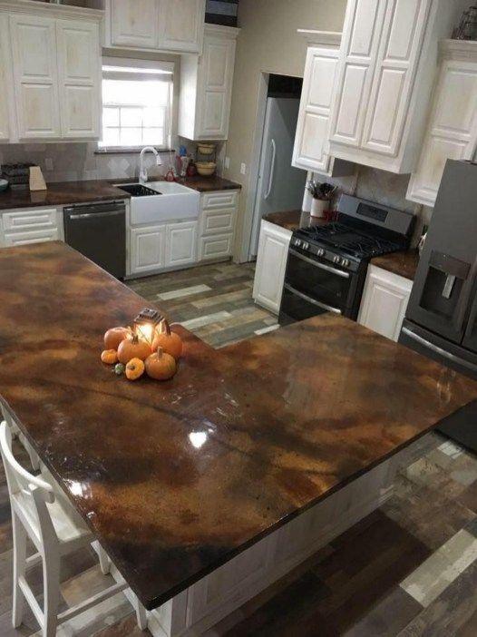 Charming Kitchen Concrete Countertop Ideas 35 Kelsey Towner