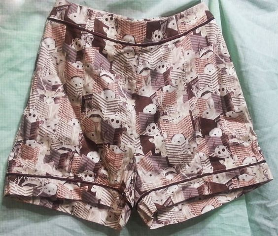 shorts antix - bichos e partituras
