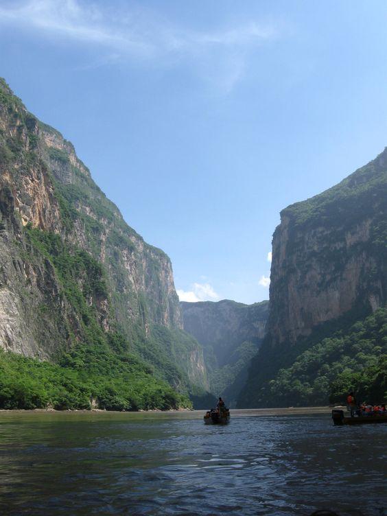 Cañon del sumidero, Chiapas, Mexico
