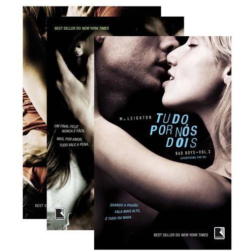 Românticos e Eróticos  Book: M. Leighton - The Bad Boys #1 a #3