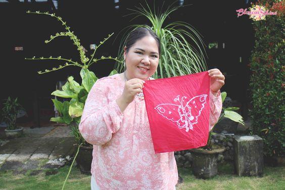 Batik Workshop at Batik Sogan, dan inilah hasilnya