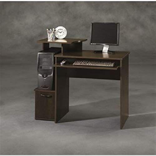 40 Inch Wide Dark Wood Computer Desk Desk Computer Office Table