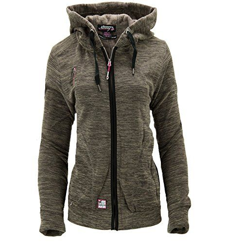 Fleecejacket with Hood Kapuzenjacke Damen