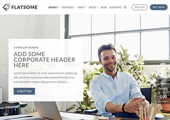 Flatsome - Wordpress thema van de dag.  Het perfecte thema voor je online winkel. Zorgt voor een geweldige gebruikerservaring.  Link in bio.. #yilps #designblog #wordpress #responsive #modern #creative #website #webdevelopment #inspiration #zzp #freelancer #startuplife #webdesign #brandingdesign #digitalartist #designlife #designstudio #appdesign #wix #squarespace #weebly