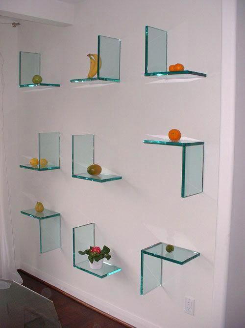 Pin By Glass Shelves Bedroom On Glass Shelves Bedroom Floating Shelves Glass Shelves Glass Wall Shelves