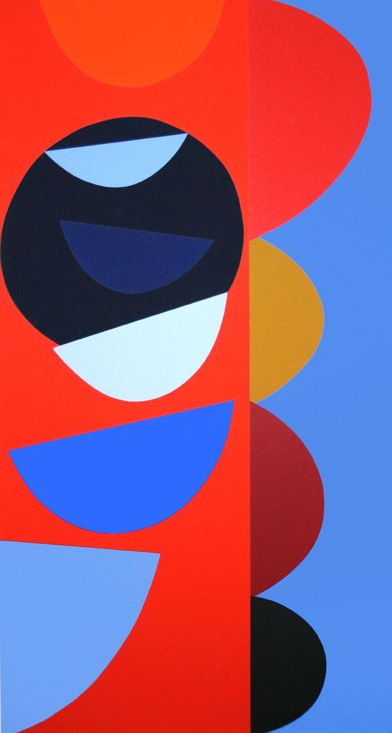 Black Sun Dipper Silkscreen Print by Sir Terry Frost
