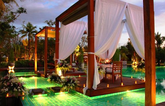 Piscina del Hotel The Sarojin Thailand