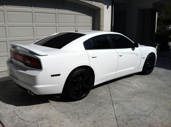 white charger black rims - Google Search | CARSS ...