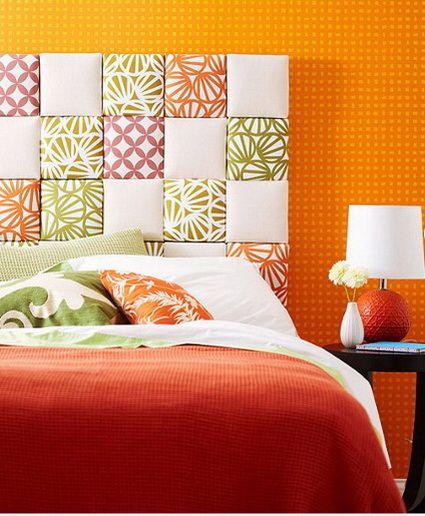 ¿Quieres darle una nueva cara tu dormitorio? Hoy te damos una idea para hacer un nuevo respaldo/cabecera para tu cama. Ya verás que es muy simple! Sigue los pasos de las imágenes abajo: Toma las ...