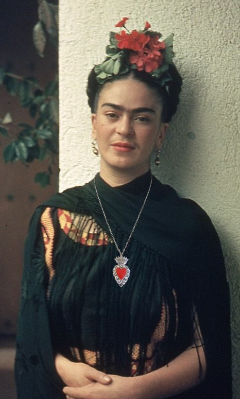 "Based on the Mexican tin heart wall decorations, this solid metal cast heart offers great functionality. It's a pin which can be worn on your label or elsewhere. Or, it comes with a removable chain so you can use it as a necklace. We're sure Frida would approve. ;-) Pendant measures about 1.2"" W x 2"" H, and the chain is about 25"" long with a 3"" extender. This design also comes in other styles, like earrings, pendants and necklaces, which you can view HERE and HERE. Another cool design brought to"
