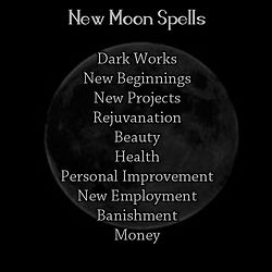 I would personally do Dark Works and Banishment on a Dark Moon. But there are many who feel that the Dark and New Moon are the same, so it all depends on your views, I guess.
