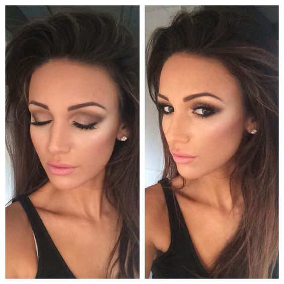 Absolutely love this make up! Wishing I looked like Michelle Keegan