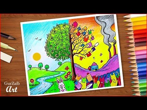 Plastic Mukt Bharat Poster Chart Drawing Ban Plastic Project For School Pollution Free Indi Poster Drawing Art Drawings For Kids Save Water Poster Drawing