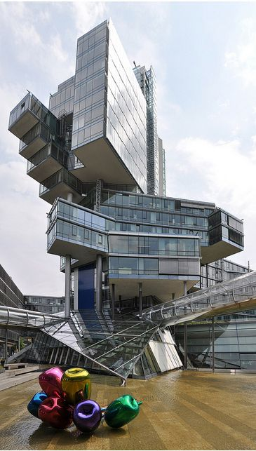 NordLB Headquarters ......Masterpiece  The headquarters of the German bank Nord LB in Hannover .: