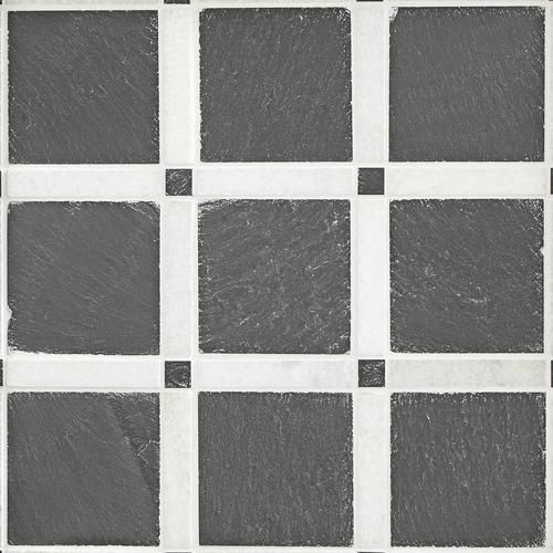 Black And White Forum Honed Slate Mosaic In 2020 Marble Mosaic