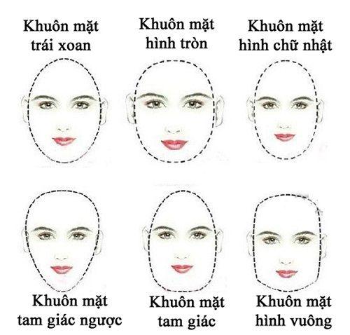 Khuân mặt dài cần trang điểm gì