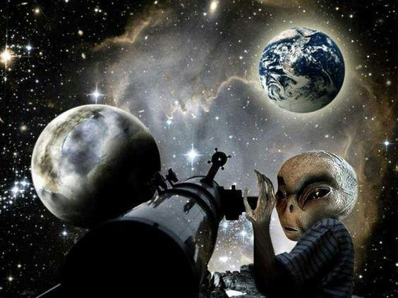 Alien Astronomer - possibilities