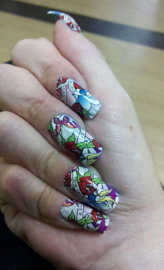 Tattoo Nails Rock!