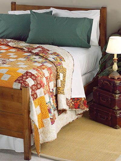Quilting - Crazy Eights - Would be a fast queen size quilt.  From Annie's e-patterns