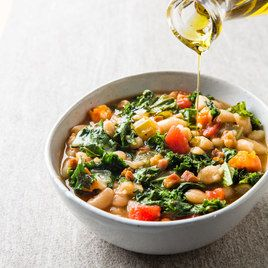 Slow-Cooker Tuscan White Bean Stew from Cook's Country | October/November 2016