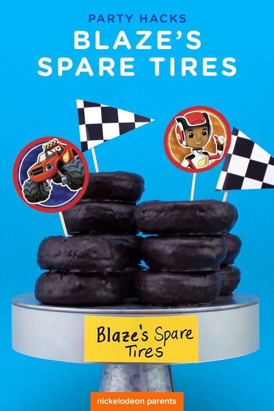 Blazes Spare Tires Chocolate Mini Doughnuts