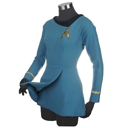 Star trek TOS female medical uniform geek dress up cosplay